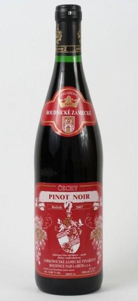 Pinot Noir, pozdní sběr 2008